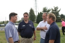 PA Lt. Governor Cawley, Kyle Davis, PA Senator McIlhinney and Mike Gallagher at Tailgate event