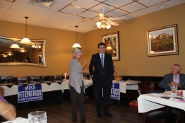 Fall Brunch 2012 Margaret Cheblosky and Congressman Fitzpatrick