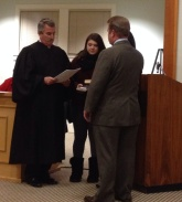 Mike Gallagher swearing in 2014