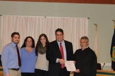 Kyle Davis sworn in as Newtown Township Supervisor