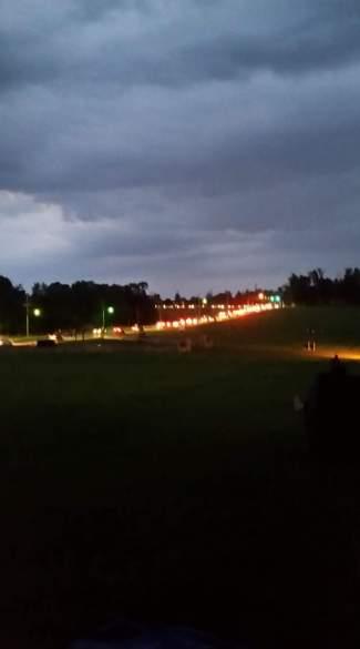 2017 fireworks traffic