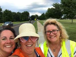 2017 Fireworks volunteer selfie